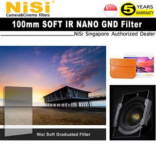 NISI 100mm IR SOFT Graduated Neutral Density Filter For 100 Square Filter System
