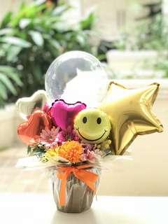 Balloon gift (customised )