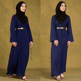 20% OFF BNWT INAYAH Royal Blue Everyday Kimono Dress Size L