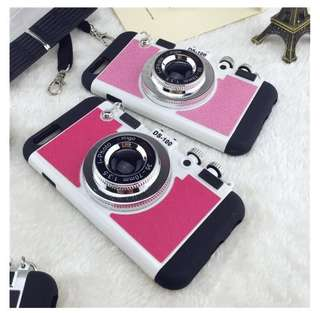 Bumper Case Iphone 6+ Polaroid Pink Fanta