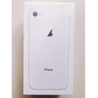 全新未拆 APPLE iPhone 8 256G 4.7吋 台灣公司貨保固1年
