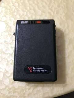 Old Skool Motorola Pager by Telecom Equipment