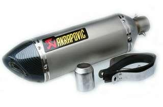 Muffler Exhaust Akrapovic Ekzos Motorcycle