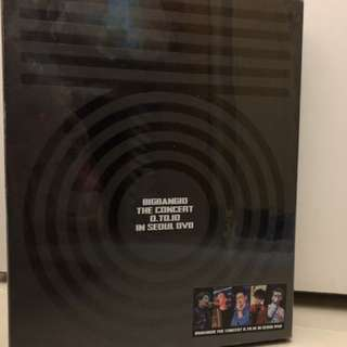Big Bang 0 to 10 concert dvd