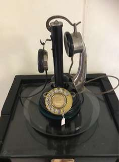 French Candlestick telephone
