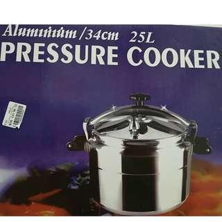 New Pressure Cooker 34cm / 25L