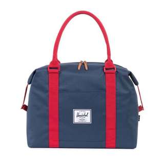 [INSTOCK] HERSCHEL SUPPLY STRAND DUFFLE (NAVY/RED)