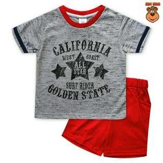 Setelan Anak Macbear California