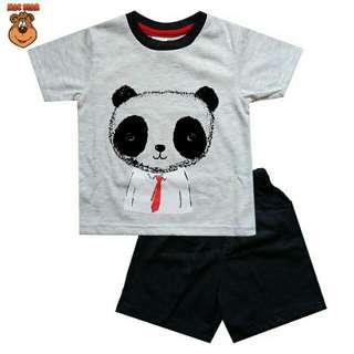 Setelan Anak Mac Bear Panda