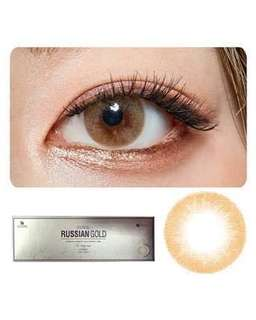 O-Lens Russian Gold 1 Day Contact Lenses in -2.50