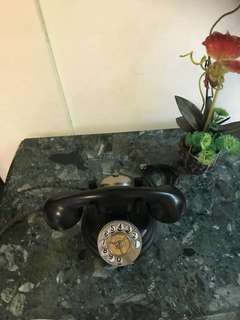 Antique French rotary telephone