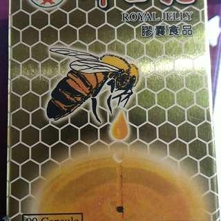 蜂王乳膠囊