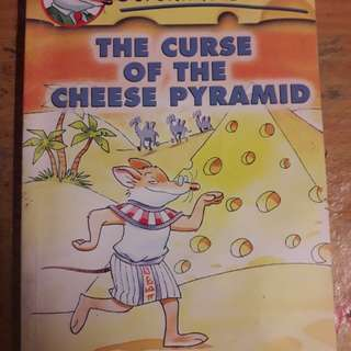 Geronimo Stilton - The Curse of the Cheese Pyramid