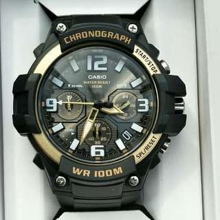 Brand new 100% authentic Casio Chronograph watch