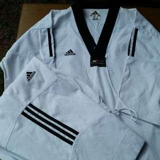 Adidas Martial art uniforms. 1 summer 1 standard