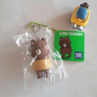 (正版) Line Brown 熊大 - 被捆綁的熊大