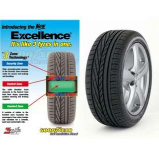 GOODYEAR 225/55R17 EXCELLENCE