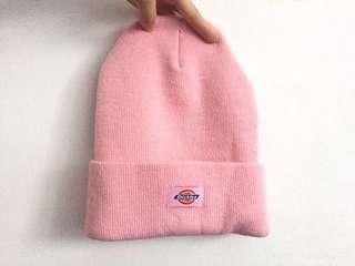🚚 Dickies 毛帽 粉紅色 美國自帶