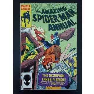 Amazing Spiderman Annual 18 (1984) Stan Lee Script!