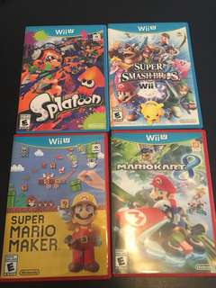 Wii U games (USA versions)