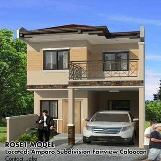 pre selling single attached house and lot for sale in amparo caloocan city
