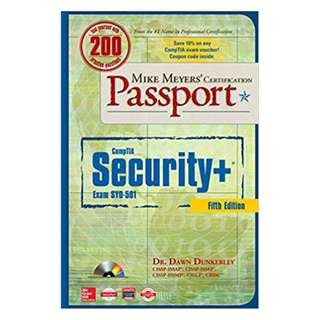 Mike Meyers' CompTIA Security+ Certification Passport, Fifth Edition (Exam SY0-501) (Mike Meyers' Certification Passport) 5th Edition, Kindle Edition by Dawn Dunkerley (Author)