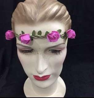 < CATZ > Flower Headband Party Headband