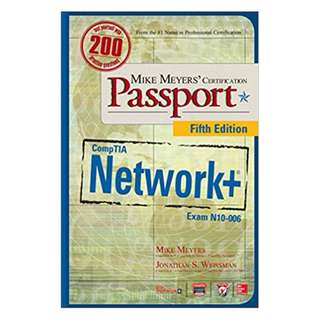 Mike Meyers' CompTIA Network+ Certification Passport, Fifth Edition (Exam N10-006) (Mike Meyers' Certification Passport) 5th Edition, Kindle Edition by Mike Meyers (Author), Jonathan Weissman  (Author)