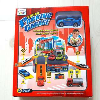 Brand New Super Parking Garage Toy Set