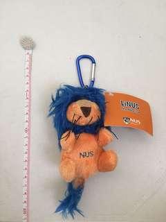 NUS Lion-Linus plushie key chain