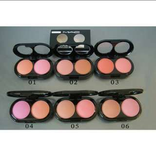 Blush on mac