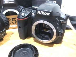 Nikon D5300 body only shutter count 2908