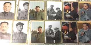 鄧小平逝世一週年紀郵票一套6張