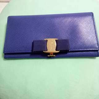 Salvatore Ferragamo Bow Wallet