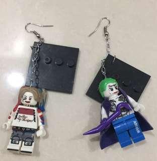 Anting anting lego joker & harley quinn
