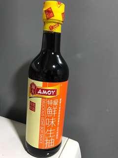 Amoy soy sauce 淘大特級鮮味生抽 500ml