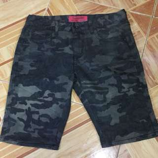 -SALE- CAMOUFLAGE SHORTS