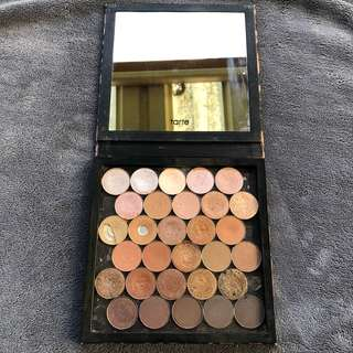 Tarte Z palette with mix of morphe and POV Shadows