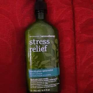 Lotion Stress Relief new