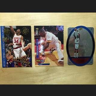 NBA 明星卡 Upperdeck Hakeem Olajuwon Houston Rockets 侯斯頓火箭