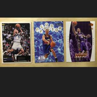 NBA 明星卡 Upperdeck Jason Kidd Dallas Mavericks 達拉斯牛仔 Phoenix Suns 鳳凰城太陽