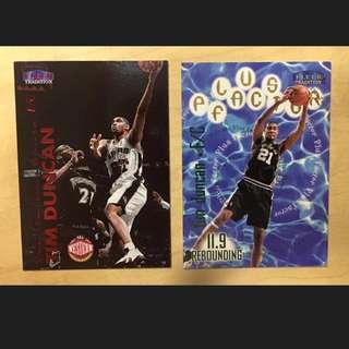 NBA 明星卡 Tim Duncan 鄧肯 San Antonio Spurs 聖安東尼奧馬刺