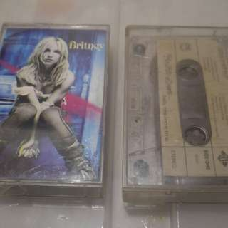 Set of 2 Tapes Britney Spears Cassette Tape Album