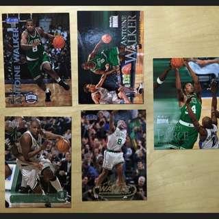 NBA 明星卡 Upperdeck Paul Pierce Boston Antoine Walker Celtics