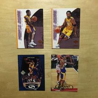NBA Kobe Bryant Lakers 高比 球星卡 Upper Deck