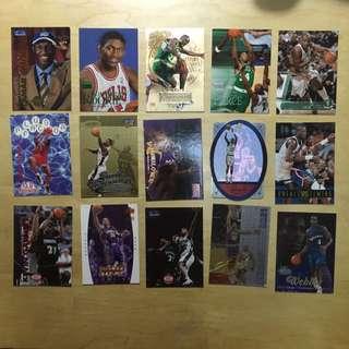 NBA 球星卡 共100張