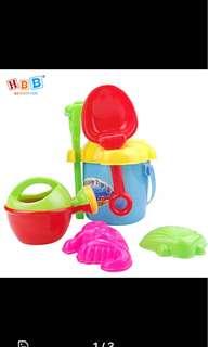 BNIB Beach sand toys