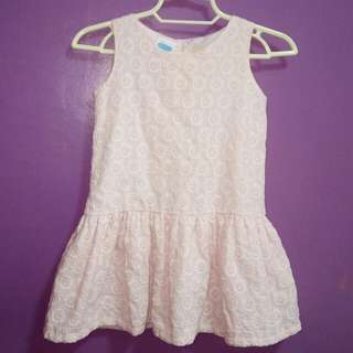 2T Crib Couture Eyelet Dress