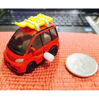 Wind Up Vacation Car