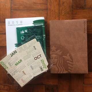 Starbucks Planner 2018